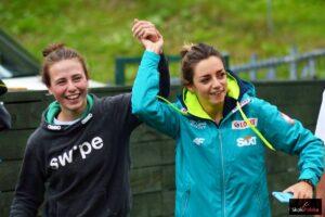 Joanna Kil i Magdalena Pałasz - te dwie Polki powalczą w Notodden (fot. Julia Piątkowska)