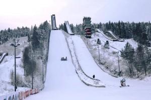 Kompleks skoczni 'Ounasvaara' w Rovaniemi (fot. facebook.com-OunasvaaranHiihtoseura)