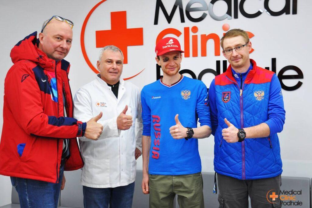 Denis Kornilov ze wsparciem polskiej kliniki po upadku!