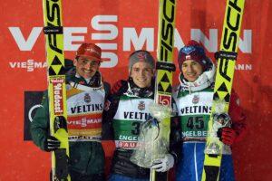 PŚ Engelberg: Stoch wraca na podium, niespodziewany triumf Fannemela!