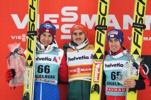 PŚ Engelberg: Freitag wygrywa, Stoch znów na podium!