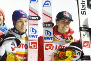 PŚ Oberstdorf: Tande i Kraft na czele treningów, Forfang wygrywa kwalifikacje