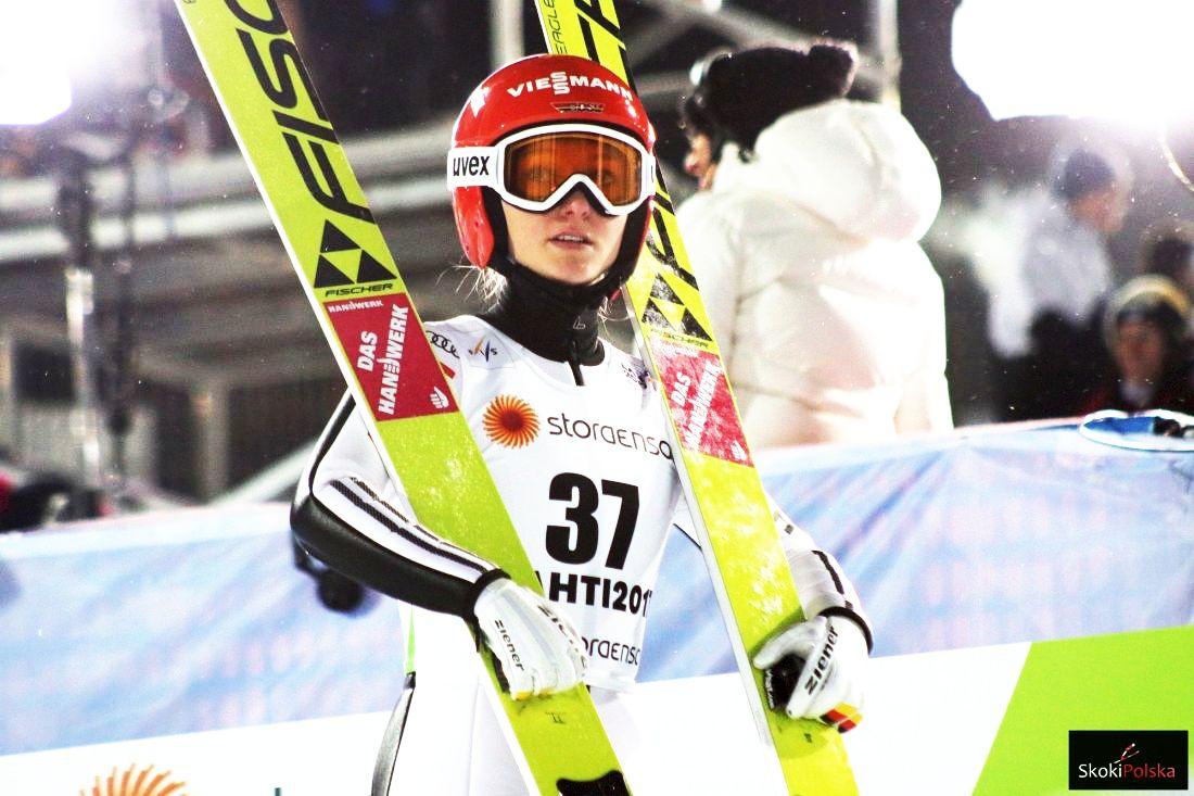 Katharina Althaus Lahti.2017 fot.Julia .Piatkowska - PŚ Pań Lillehammer: Katharina Althaus wygrywa konkurs i norweski turniej!