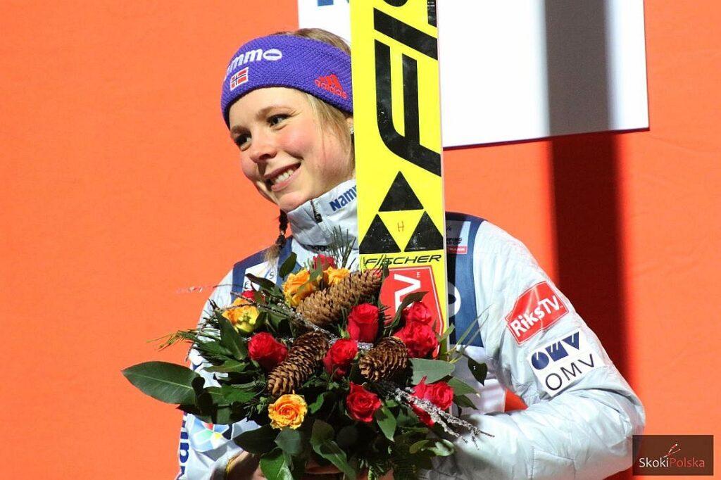 PŚ Pań Oberstdorf: Walka na rekordy i kolejny triumf Maren Lundby