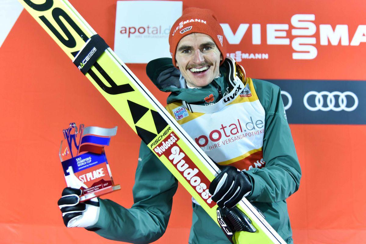 Richard Freitag (fot. Ilia Khamov / FIS Ski Jumping World Cup Nizhny Tagil 2017)