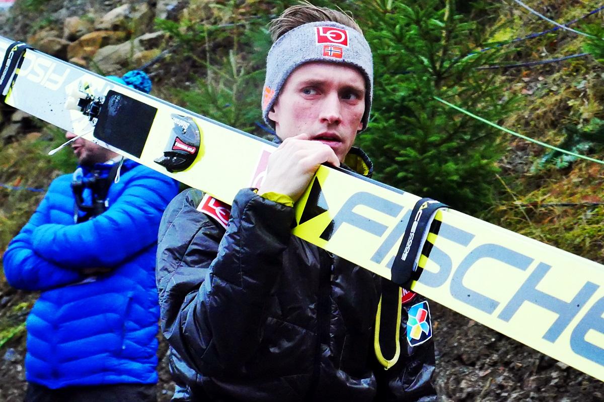"""aP1050120 - Anders Fannemel: """"Potrzebowałem wygranej, dała mi motywację"""""""