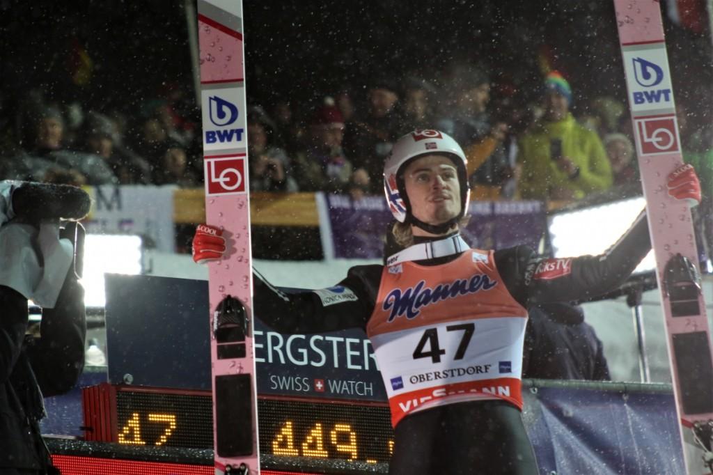 MŚwL Oberstdorf: Daniel Andre Tande liderem po pierwszym dniu zmagań! Stoch 3.