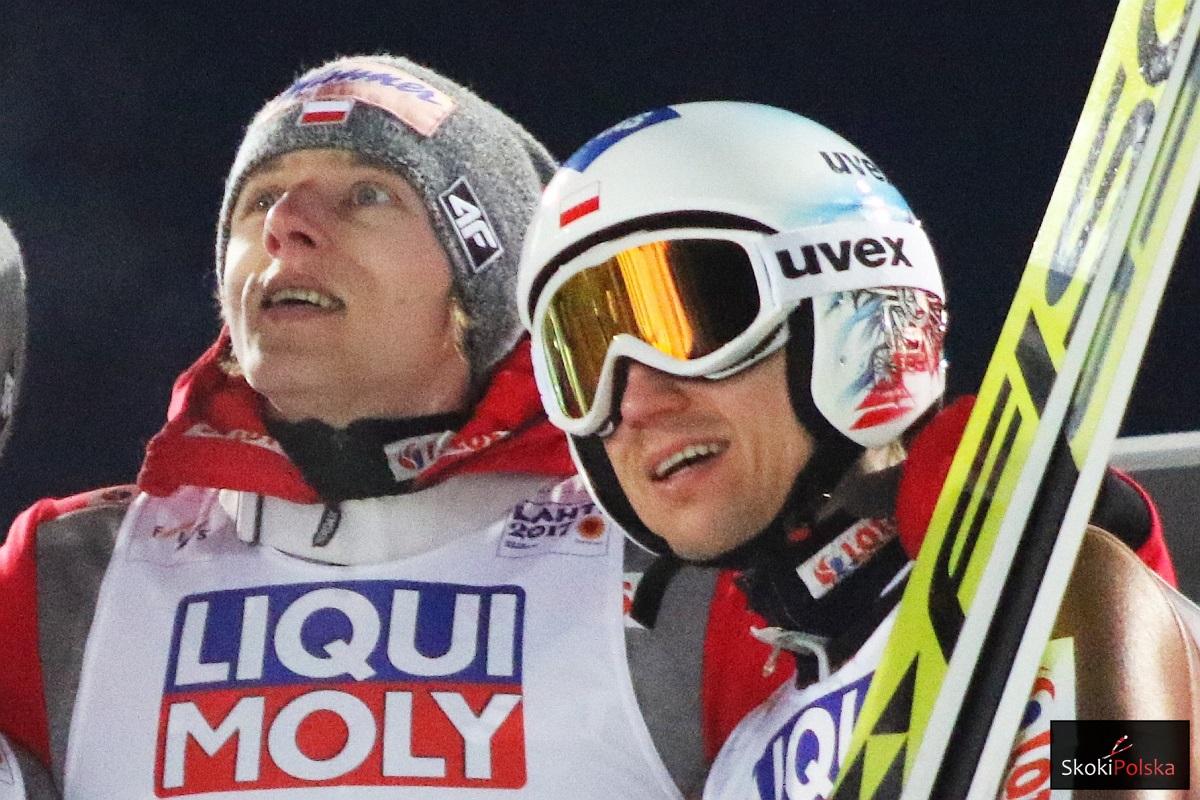 Dawid Kubacki i Kamil Stoch (fot. Julia Piątkowska)