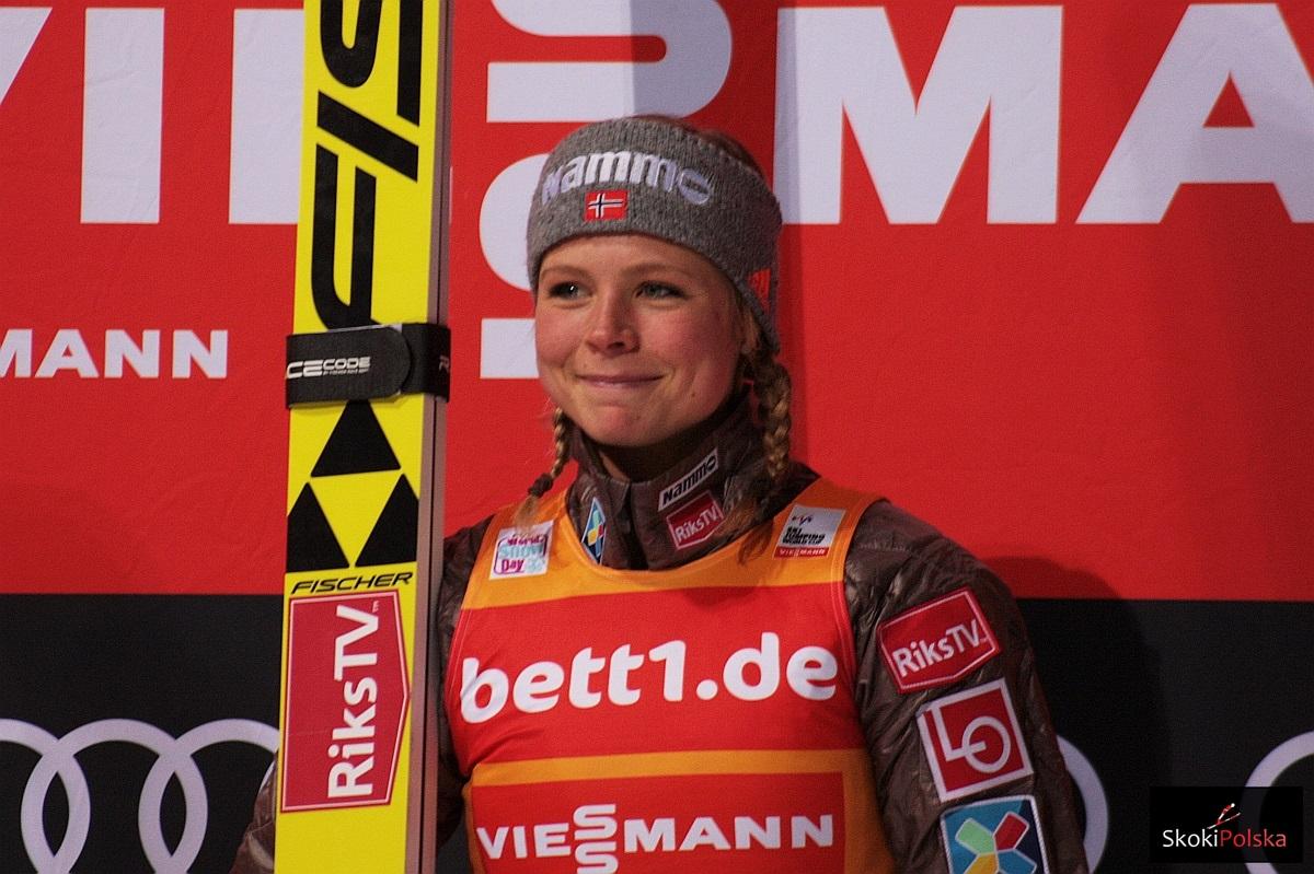 PŚ Pań Lillehammer: Maren Lundby odlatuje i wygrywa kwalifikacje [WYNIKI]