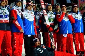 Polska drużyna w Oberstdorfie (fot. Bartosz Leja)