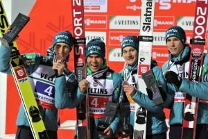 Słoweńcy Oberstdorf 2018 fot. Julia Piątkowska 300x200 - MŚwL Oberstdorf: Norwegowie mistrzami świata, Polacy z brązowym medalem!