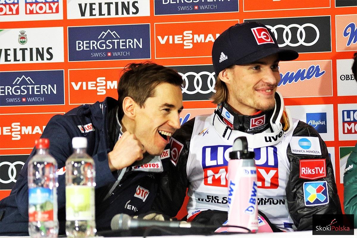 Kamil Stoch i Daniel Andre Tande (fot. Julia Piątkowska)