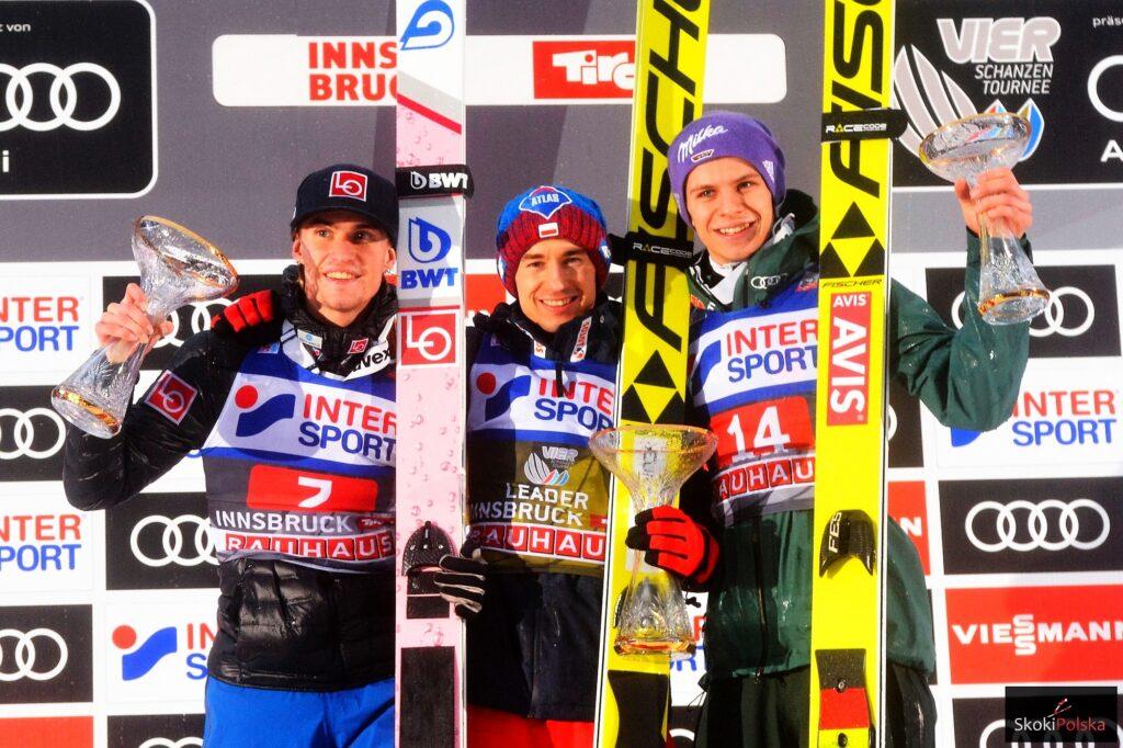 TCS Innsbruck: Stoch znów triumfuje, Freitag zrezygnował ze startu!