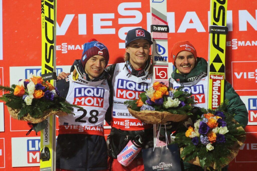 Read more about the article MŚwL Oberstdorf: Kamil Stoch wicemistrzem świata w lotach narciarskich! Tande ze złotem