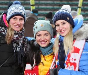 Marta Majcher, Marcelina Hula i Ewa Bilan-Stoch w PyeonChang (źródło: www.instagram.com/ewabilanstoch)