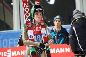 Anze Semenic - zwycięzca z Zakopanego podczas igrzysk nie błysnął formą (fot. Julia Piątkowska)
