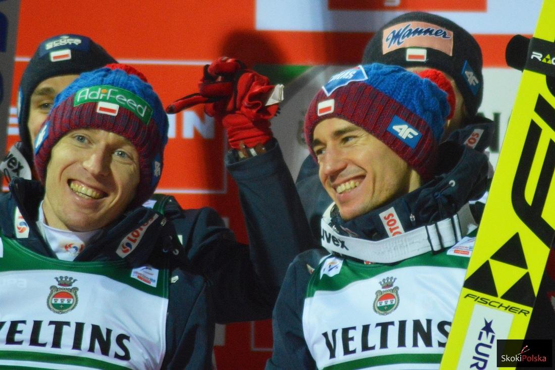 Stefan Hula i Kamil Stoch (fot. Bartosz Leja)