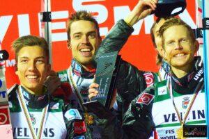 """Magiczne wąsy Johanssona i łzy Stoeckla: """"Wszyscy zapracowaliśmy na ten medal"""""""