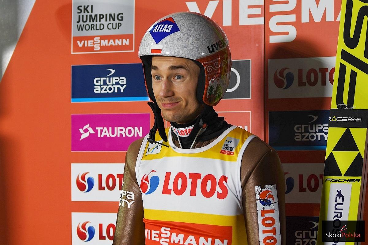 Kamil Stoch Zakopane.2018 fot.J.Piatkowska - Kamil Stoch liderem olimpijskiego konkursu w PyeongChang!