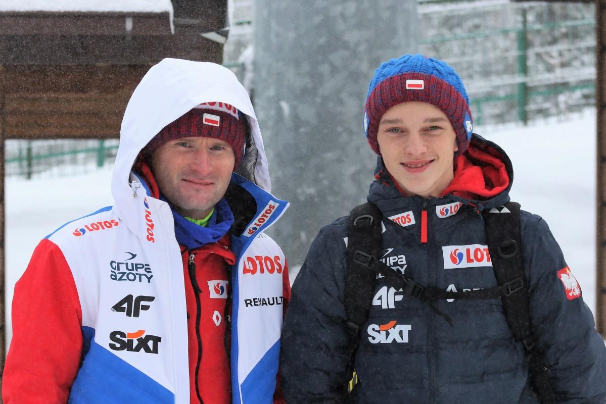 Maciej Maciusiak i Tomasz Pilch (fot. PZN)
