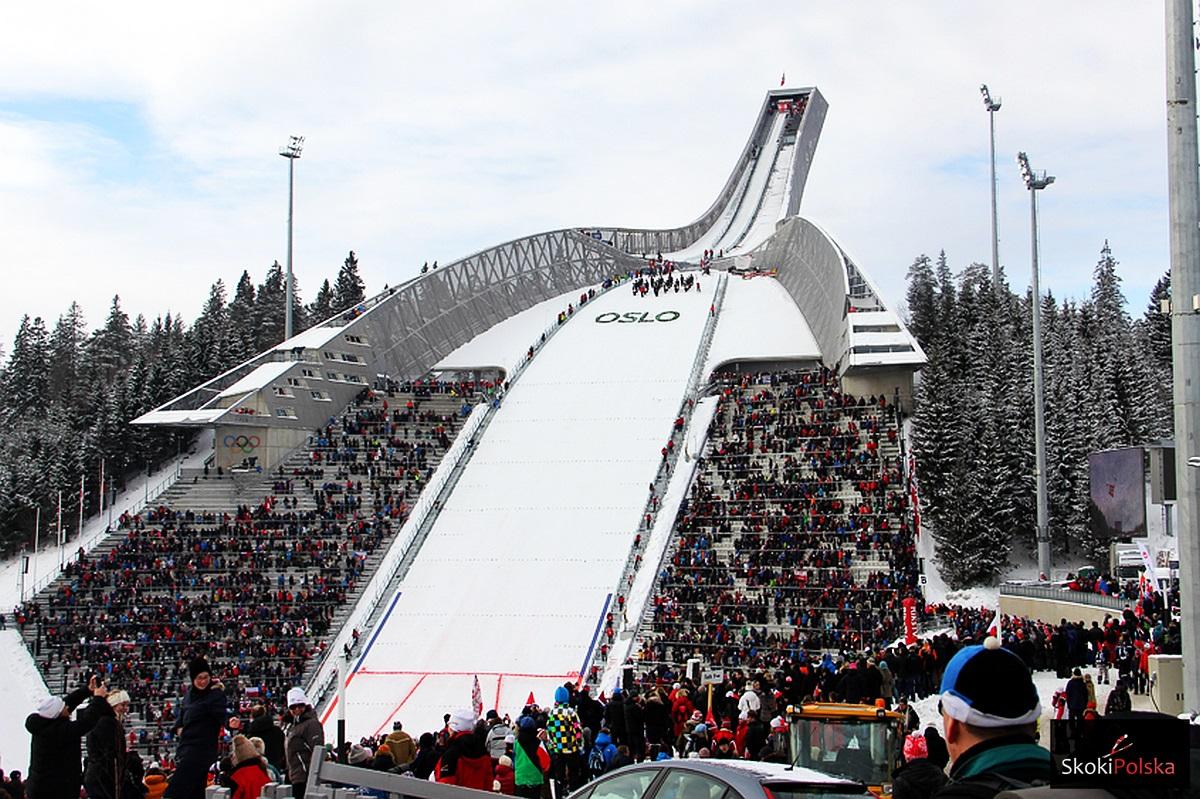 Skocznia na wzgórzu Holmenkollen, fot. Stefan Piwowar