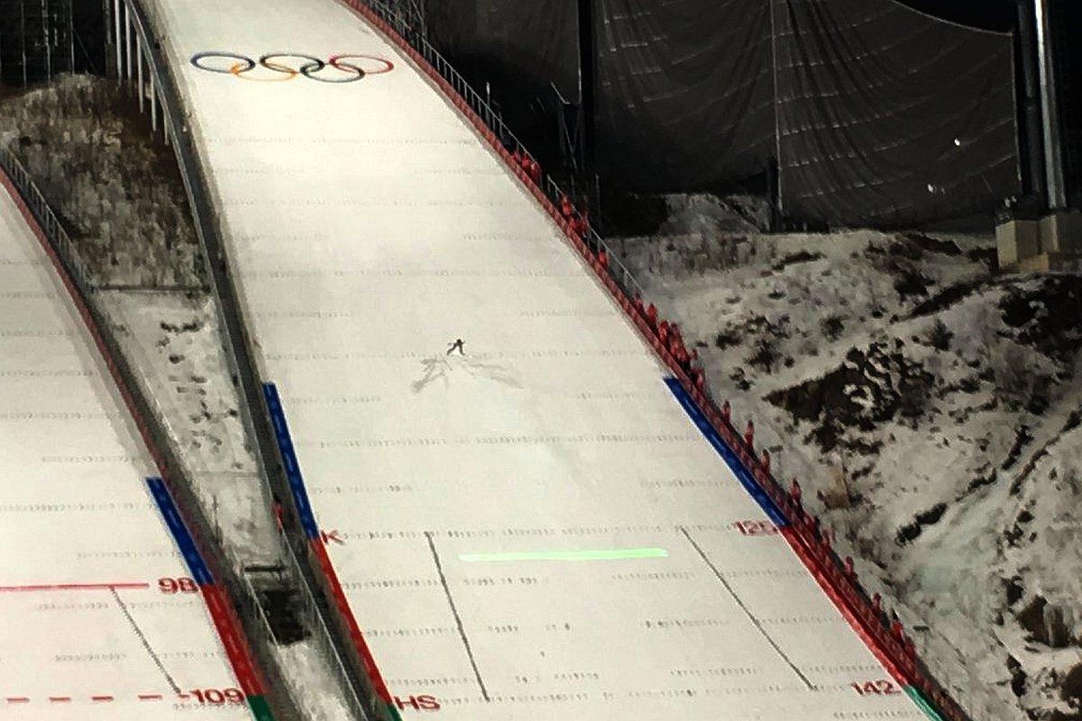 Duża skocznia olimpijska w PyeongChang