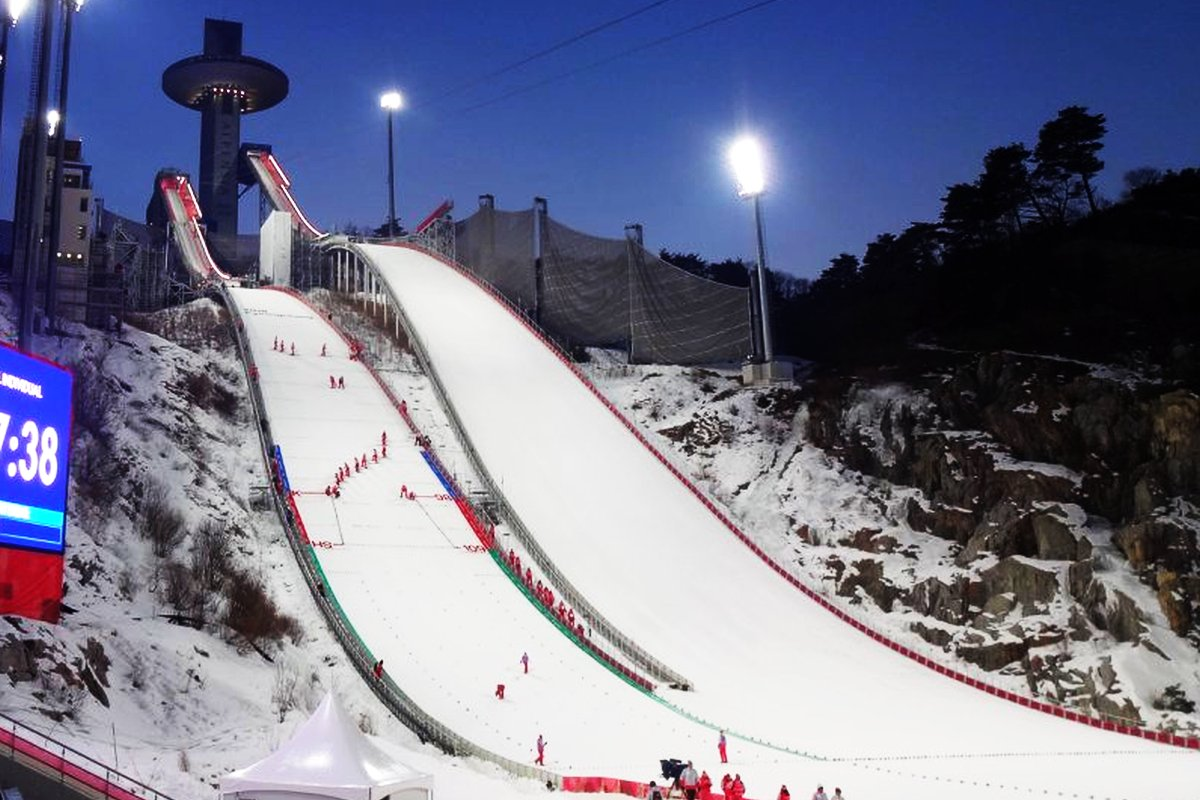 PyeongChang Alpensia.Jumping.Resort igrzyska.2018 fot.MB  - PyeongChang - Alpensia Jumping Resort HS-109