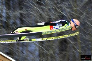 Stefan Kraft - rekordzista skoczni HS-109 w PyeongChang (fot. Bartosz Leja)