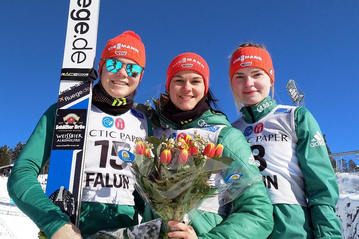 FIS Cup Pań Falun: Pewna wygrana Luisy Goerlich