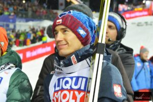 """Kamil Stoch na podium: """"Dyspozycja była wysoka od początku sezonu, ale potraciłem priorytety"""""""