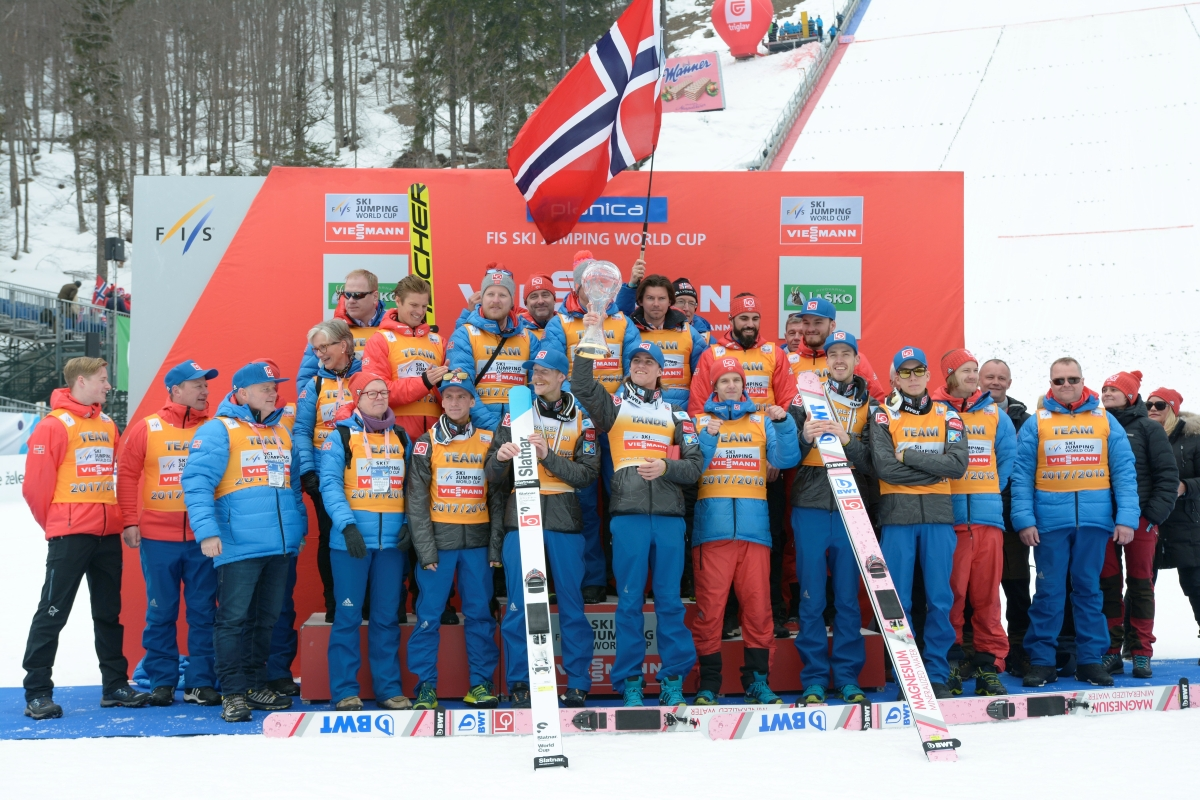 Jaka będzie przyszłość norweskich skoków narciarskich (fot. Julia Piątkowska)