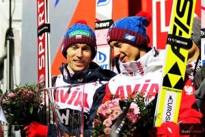 Stefan Hula i Kamil Stoch (fot. Julia Piątkowska)