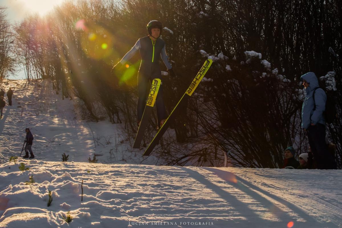 Skoki w Strachocinie, fot. Lucjan Śmietana