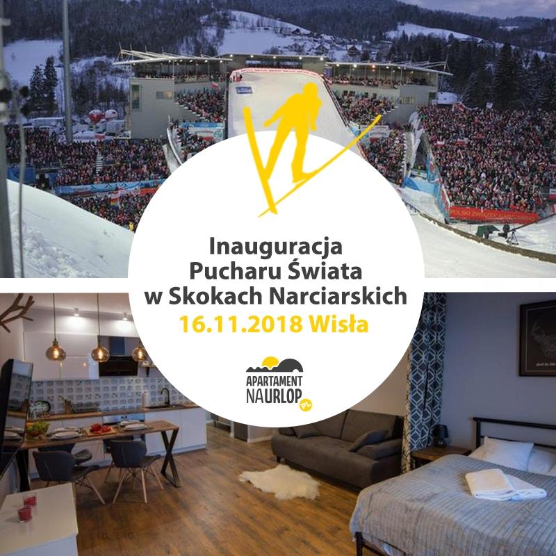 Apartamenty na urlop Wisla 2018 - Noclegi na Puchar Świata w Wiśle z rabatem powyżej - 20 %!