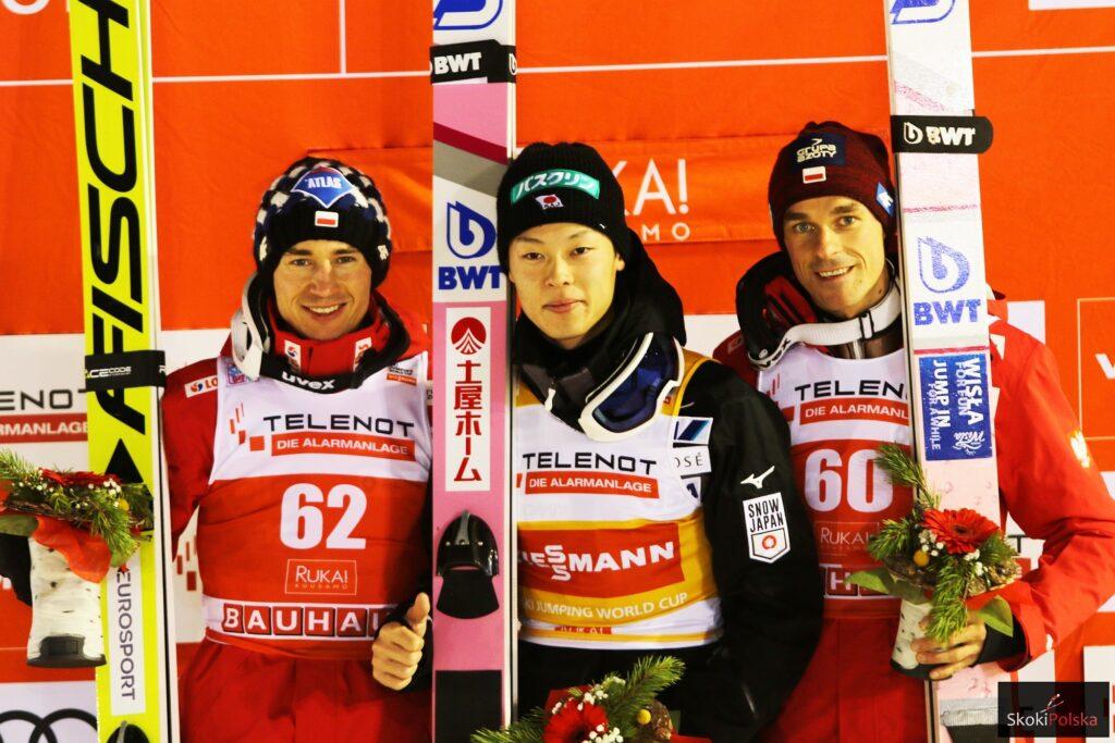 PŚ Ruka: R.Kobayashi wygrywa, Stoch i Żyła na podium!
