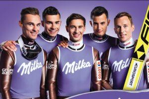 Milka nowym sponsorem polskich skoczków!