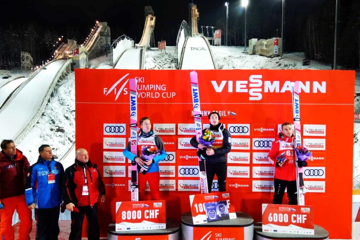 You are currently viewing PŚ Niżny Tagił: Zwycięski R.Kobayashi, imponujący awans Żyły na podium!