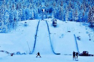 Skocznia w Premanon (fot. Facebook / Jura Ski Events)