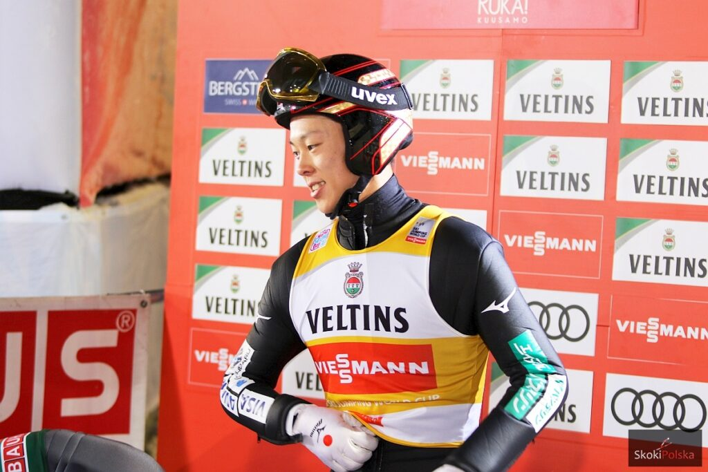 PŚ Engelberg: R.Kobayashi wygrywa kwalifikacje, komplet Polaków w konkursie