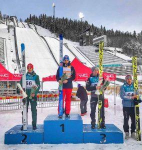 Schmid.Lindvik.Schiffner.Zniszczol Lillehammer2018 fot.MartynaMital 284x300 - PK Lillehammer: Drugi triumf Lindvika, Zniszczoł tuż za podium!