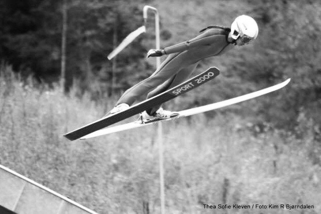 Thea Sofie Kleven (fot. Kim R. Bjoerndalen / hoppski.no)