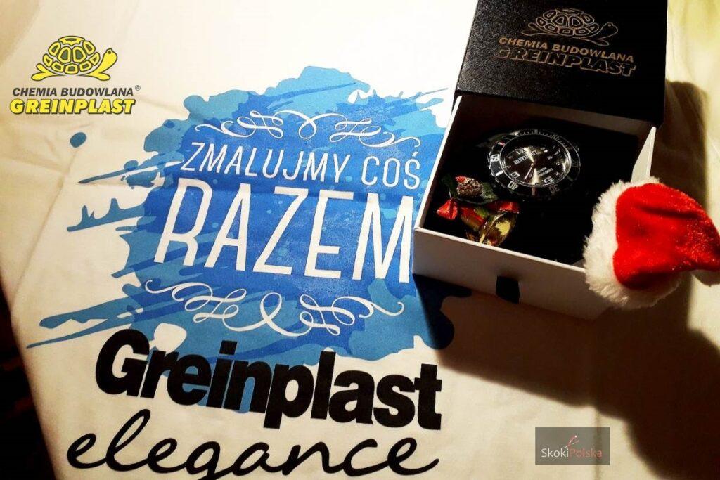 KONKURS: Wygraj elegancki zegarek i koszulki od firmy GREINPLAST!