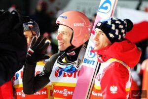 PŚ Oberstdorf: Premierowy triumf Zajca, Kubacki na podium, wiatr zwiał faworytów!