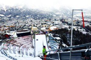 Widok z Bergisel na Innsbruck (fot. Julia Piątkowska)