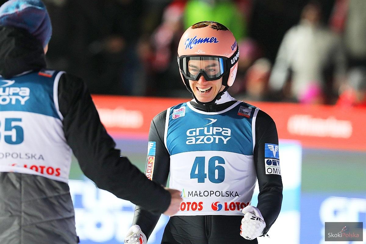 TCS Oberstdorf: Kraft wygrywa kwalifikacje, komplet Polaków w konkursie [WYNIKI]