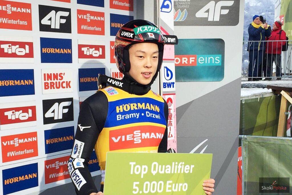 Zwycięzca kwalifikacji - Ryoyu Kobayashi (fot. Julia Piątkowska)