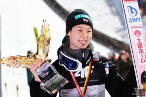 Triumfator 67. TCS Ryoyu Kobayashi ze Złotym Orłem (fot. Julia Piątkowska)