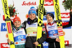MŚ Seefeld: Lundby ze złotem, Althaus pół punktu za nią, dobry występ Karpiel!
