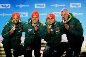 MŚ: Niemcy ze złotem w Innsbrucku, medal nie dla Polaków