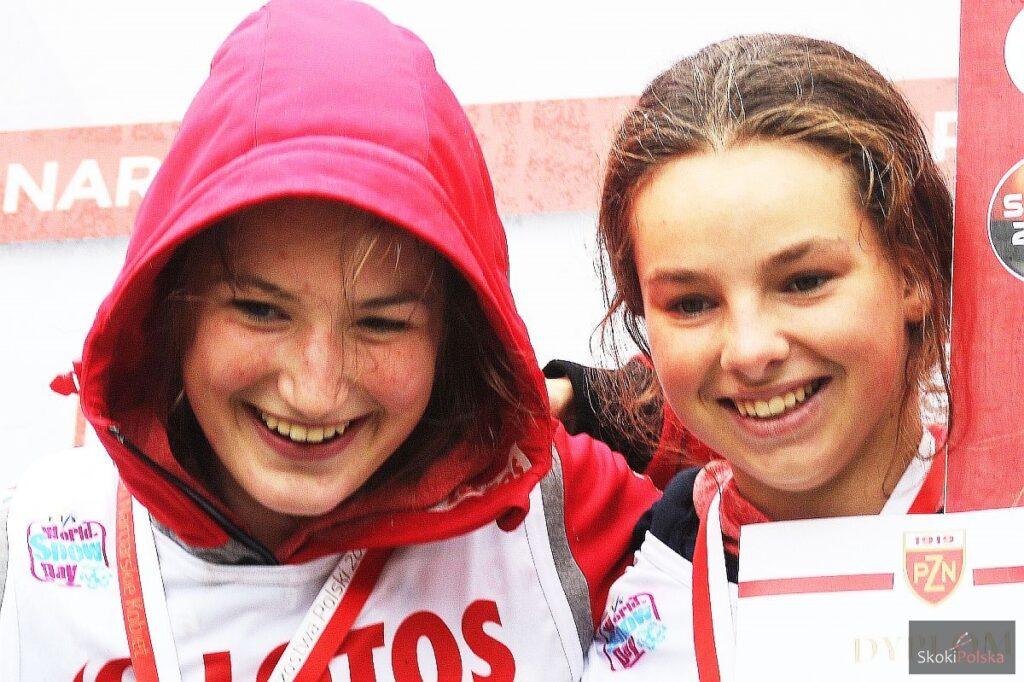 Kinga Rajda i Kamila Karpiel - obie awansowały do piątkowego konkursu w Ljubnie (fot. Julia Piątkowska)